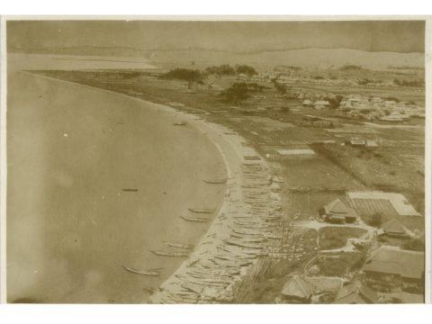 明治34年頃漁村時代の三川
