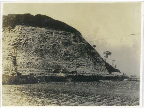 明治35,6年頃 二頭山採石所