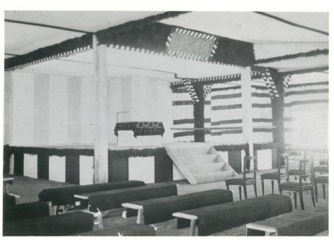 三池開港式場の一部